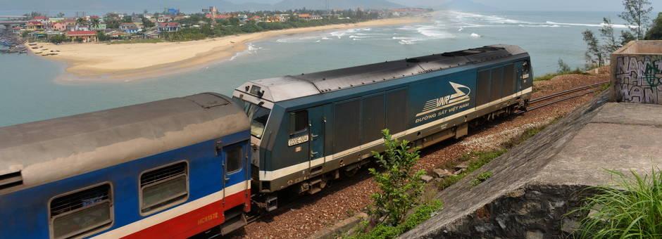 Reizen per trein in Vietnam