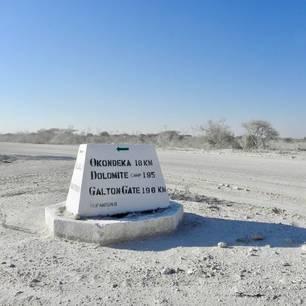 Namibie-Etosha-Bord