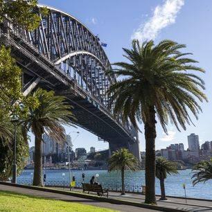 Australie-Sydney-Harbor-Bridge-boulevard