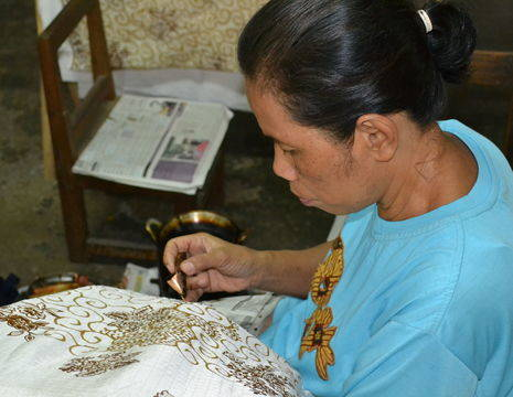 Indonesie-Java-Jogyakarta-batik