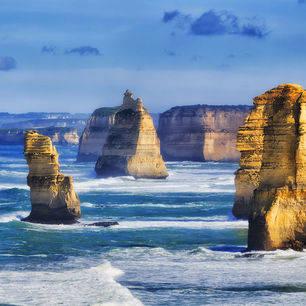 Australie-Great-Ocean-Road-twaalf-apostelen-rotsen