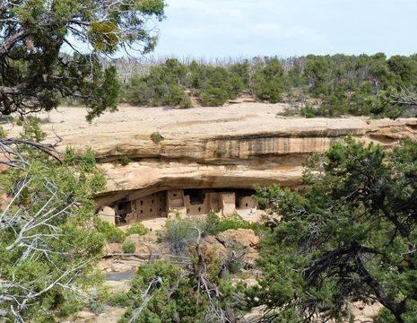 Amerika-Mesa-Verde-Grotwoning