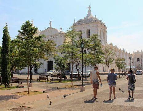 Nicaragua-Leon-Gebouw_1_388411
