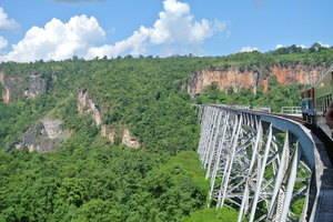 Mooie treinreis in Myanmar