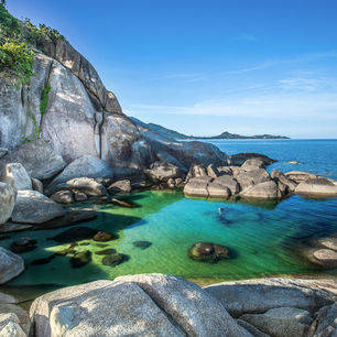 Thailand-kohtao-strandenzee
