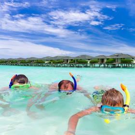 Snorkelen bij de Malediven