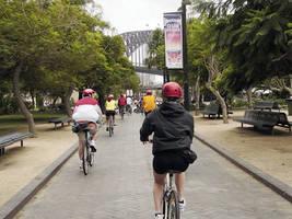 Op de fiets door Sydney