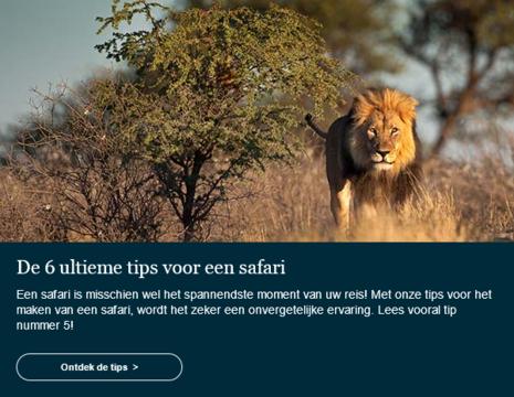Safaritips