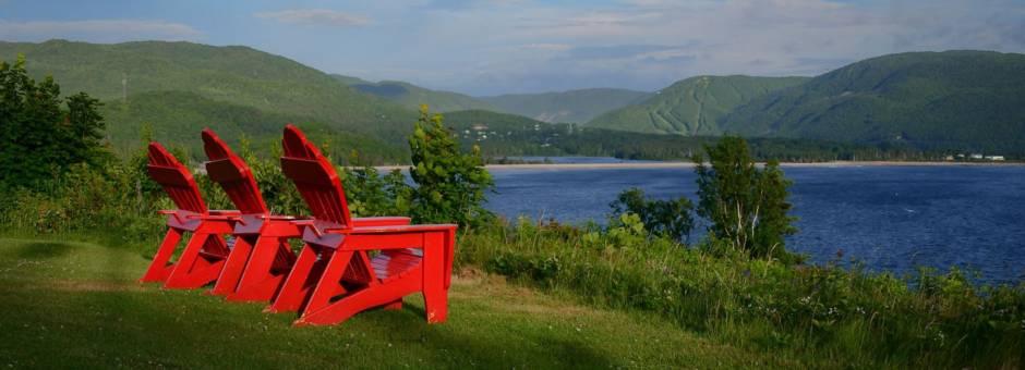 Wat een uitzicht in Cape Breton National Park