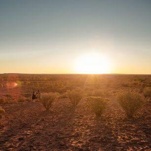 Australie-Uluru-zonsondergang