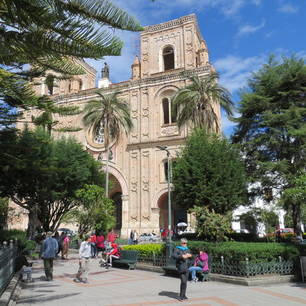 Plein in Cuenca