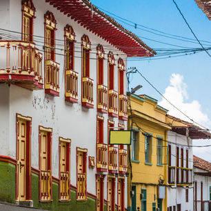 Colombia-Armenia-gekleurde-staat