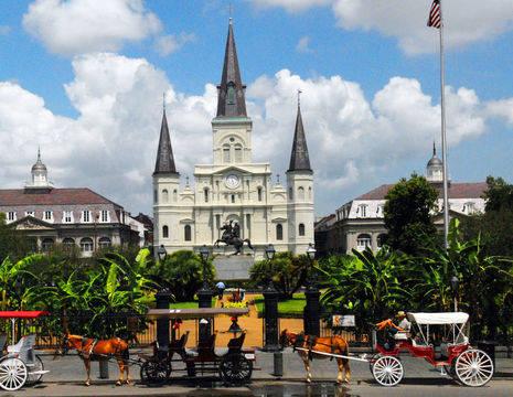 Amerika-Verenigde-Staten-New-Orleans_Jackson_Square