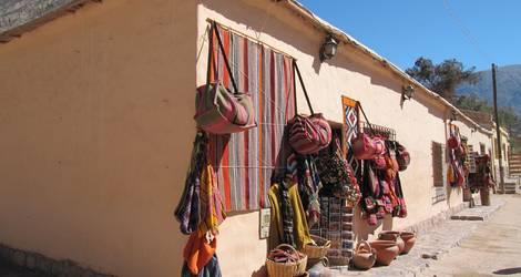 Argentinie-Purmamarca-markt1