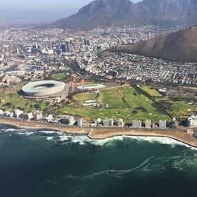 Helicptervlucht boven Kaapstad