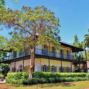 Amerika-Key-West-Hemingway-House