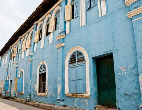 Maleisie-KualaLumpur-colonialbluehouse