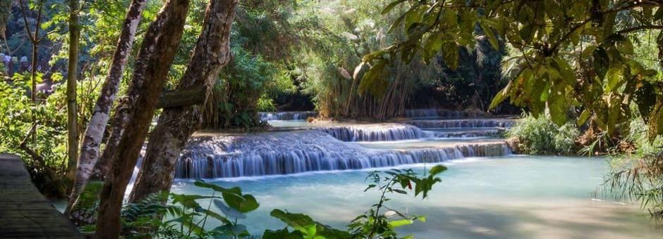 Luang-Prabang-Kuang-Si-Waterval