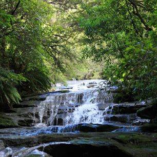 Australie-Blue-Mountains-waterval