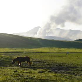 Mount Aso, Japan