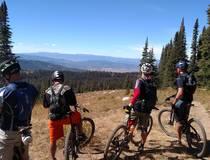 Mountainbiken in de Rockies