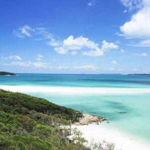 Australie-Whitsundays-Whitehaven beach-uitkijkpunt