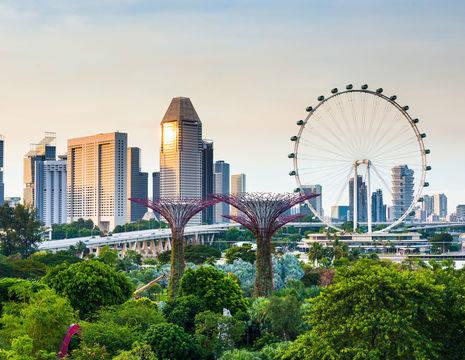 Azie-Singapore-skyline