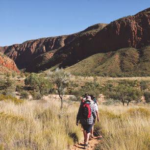 Australie-West MacDonnell Ranges-wandelen