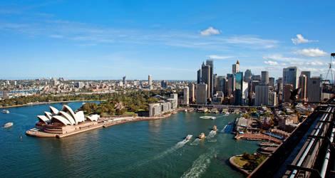 Australie-Sydney-haven-opera-house
