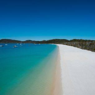 Australie-Whitsundays-parelwit-zandstrand