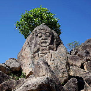Colombia-San-Agustin-mysterieuze-beelden