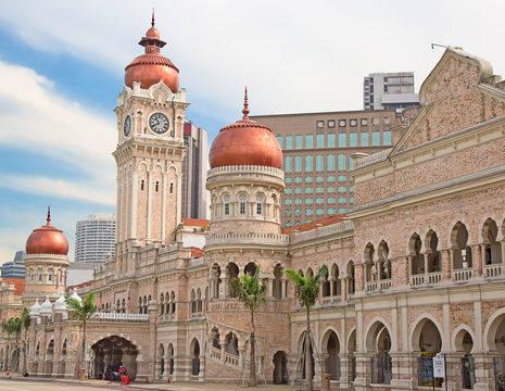 Maleisie-KualaLumpur-colonialarea