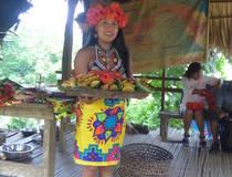 Embera stam bij Chagres