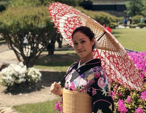 Japan-Matsumoto-Kimono