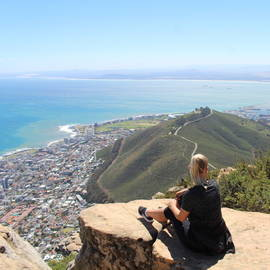 Lisanne in Kaapstad