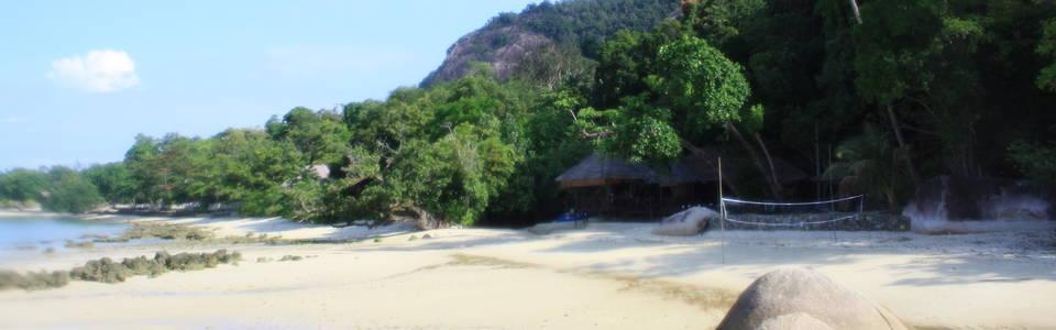 Strand bij Tioman Island