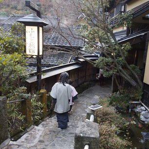 Japan-Kurokawa-Onsen-Straatje
