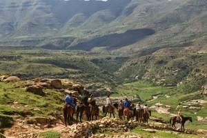 Natuur in Lesotho