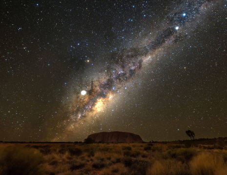 Australie-Ayers-Rock-sterrenhemel