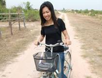 Siem Reap, Fietstocht door het achterland