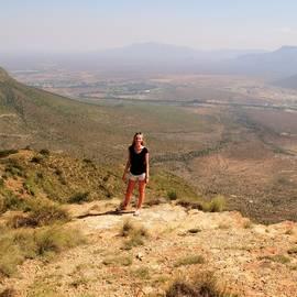 Kim in Zuid-Afrika