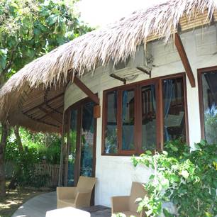 Balangan, La Joya Biu Biu  P1240043 gardenview room