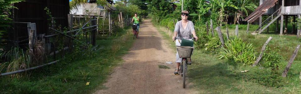 Fietsen in Laos