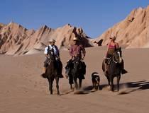 Paardrijden door de Maanvallei