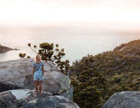 Australie-Magnetic-Island-uitzicht