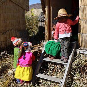 Puno-Titicacameer-Kinderen