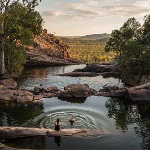 Australie-Kakadu-NP-dompelbaden