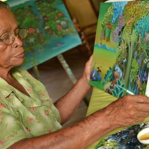 Nicaragua-Solentiname-Schilderkunst