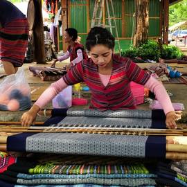 Tad Yuang Waterval, Laos