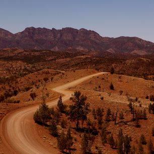 Australie-Flinders-Ranges-onderweg